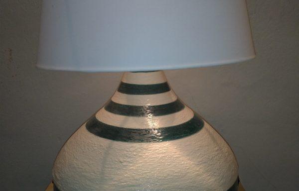 "Lampada ""Tuscany"" in ceramica / Ceramic lamp ""Tuscany"""